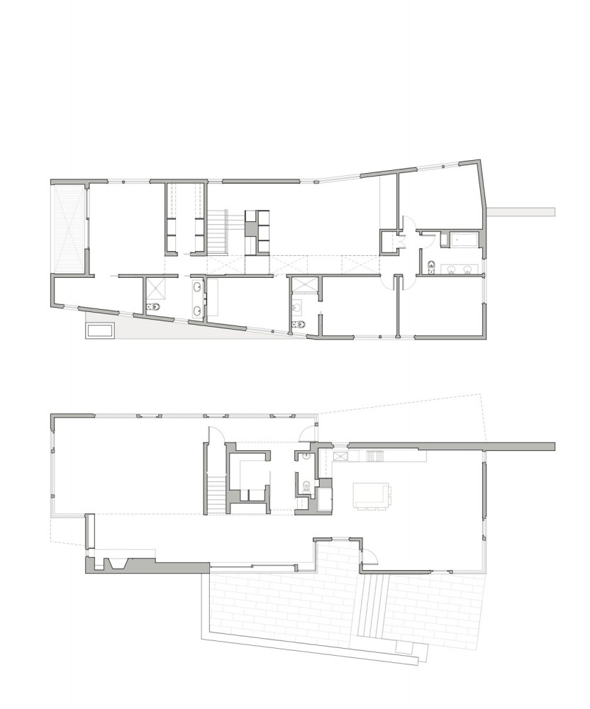 Plan de maison americaine moderne for Plan maison americaine