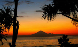 Mangsit Beach Sunset Exploring Lombok Attractions
