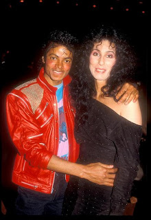 Michael Jackson and Cher