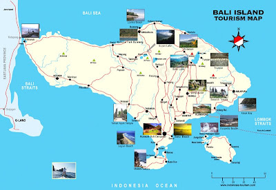 Map of Bali
