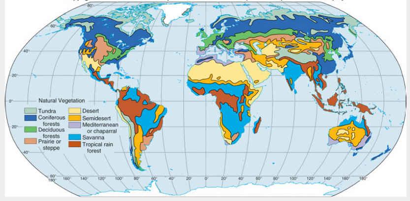 Sejauhmana kita mengetahui Persebaran Flora dan Fauna di muka bumi