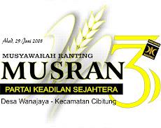 Sukseskan MUSRAN 3 PKS Wanajaya