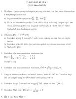 Latihan Kalkulus (1)