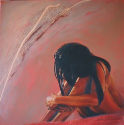 Tracey's painting is called See Me