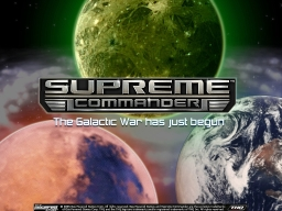 Bienvenue Supreme Commander Forged Alliance
