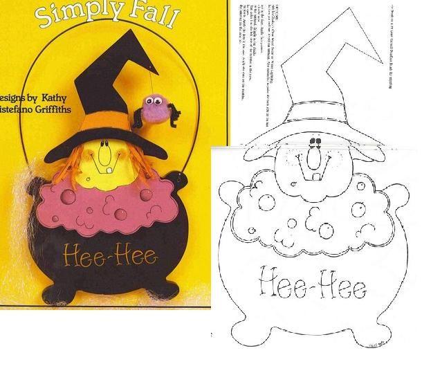 Ideas en goma eva para Halloween