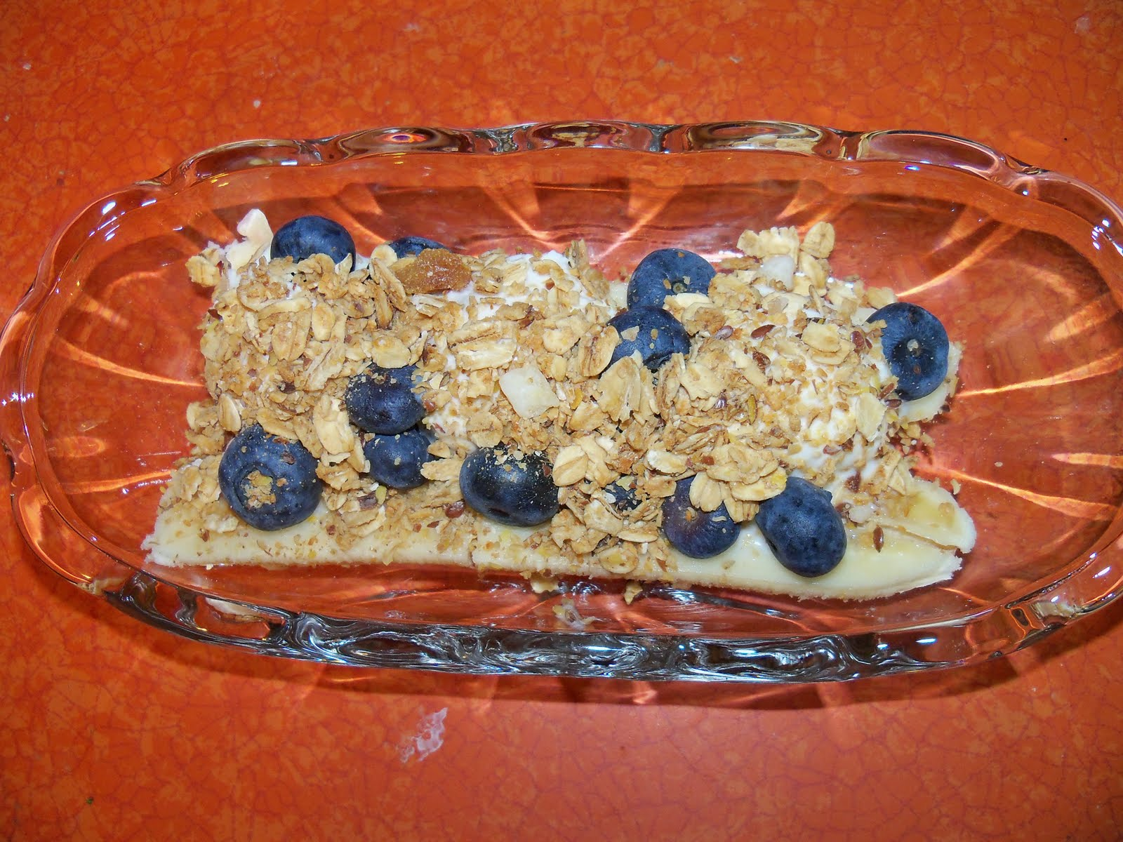 Lunches Fit For a Kid: Recipe: Breakfast Banana Split