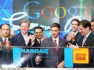 2004年:Google上市