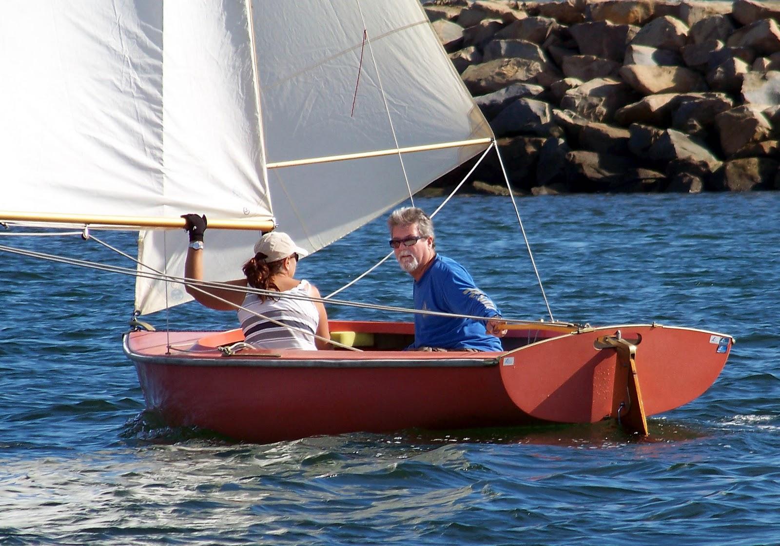 Sailing Adventures of David & Kathy: Sailing Dinghy update.