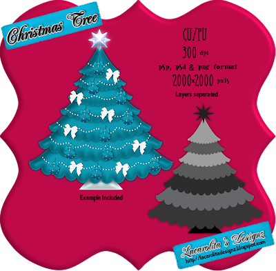 http://lacarolitasdesignz.blogspot.com/2009/11/christmas-tree-cupu.html
