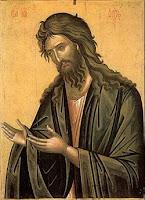 Святой Иоанн Креститель(Предтеча)