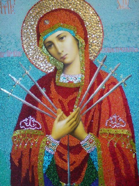 молитва семистрельной божьей матери видео