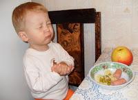Молитва после еды