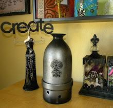 Custom Design- Silver Damask