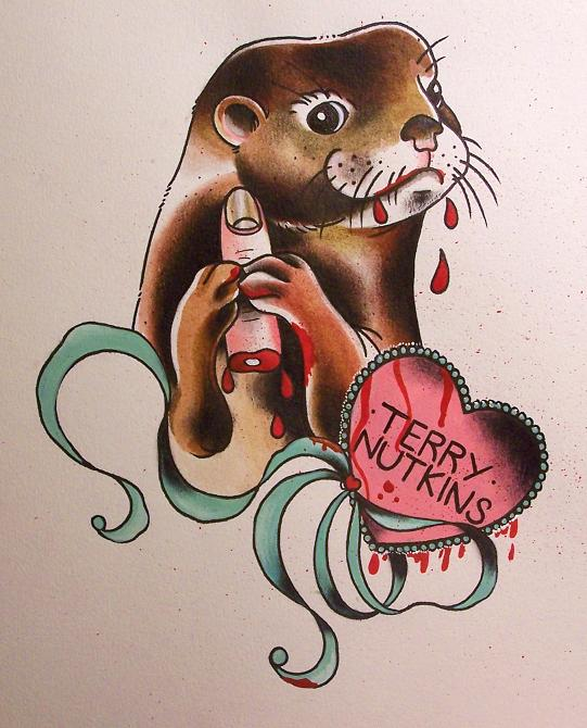 1000+ Images About Otter Tattoos On Pinterest