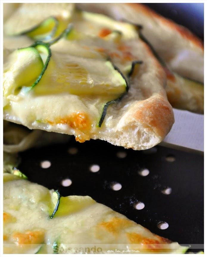 Salseando en la cocina: Pizza zucchine, della Fontana di Trevi