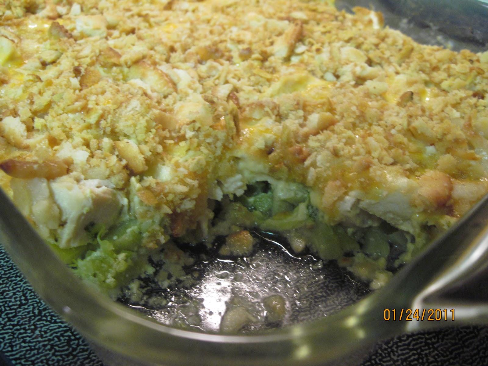The Better Baker: Chicken Broccoli Casserole