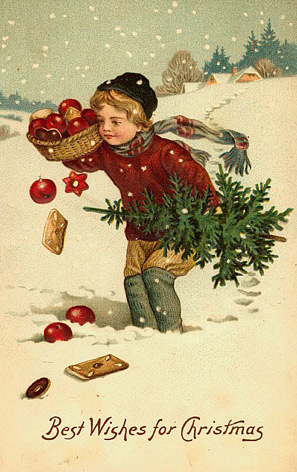 Well it is Christmas time and for all who like Vintage Christmas