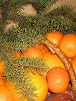 New Year fruit mandarin orange for skin care