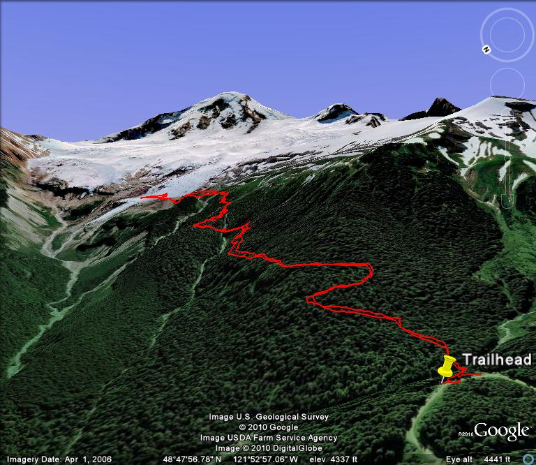 mt baker trail map pdf