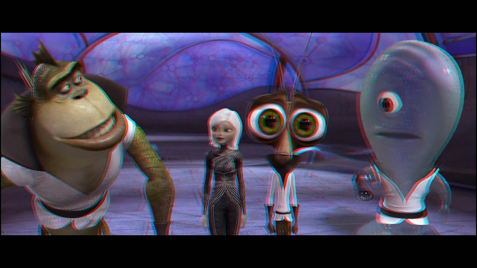 Monsters vs aliens 3d 2009