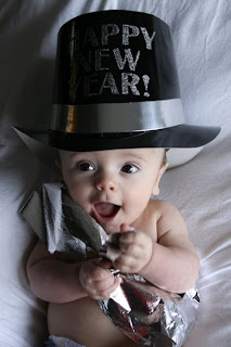 Baby New Year photos