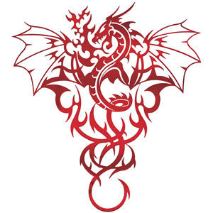 Tribal Tattoo Designs Dragon