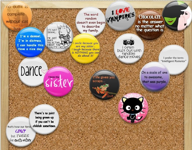 Pottery and everything else facebook flair - Office space pieces of flair ...