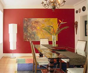 Decorating in Red | Modern Cabinet