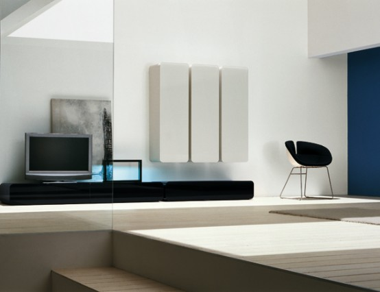 Colored Glass Wall Units And Sideboards   Glass Day Collection From