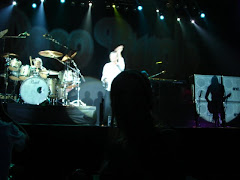 Sérgio Climaco (só apareçe a sombra dele )no backstage e Deep Purple no fundo