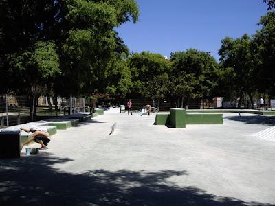 Zonas de Skate para patinar en VALENCIA Imgp0630