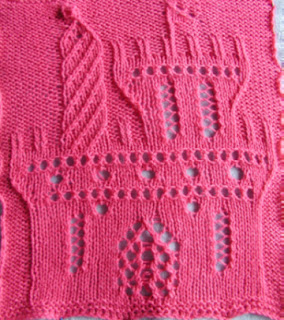 Difficult Knitting Patterns : Knitting Muse: The Gingerbread Castle