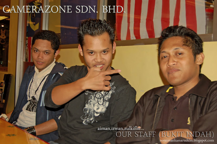 Staff Camera Zone outlet Bukit Indah