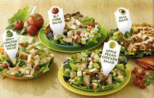 Wendys Menu Salads Journey to a Healthier...