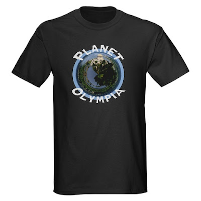 Planet Olympia - photo & shirt ©Scott Allan Stevens - available at CafePress.com