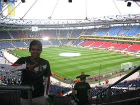 En el Hannover 96 de Alemania
