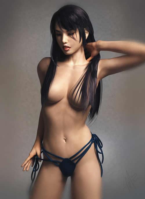 3d sexy girls: