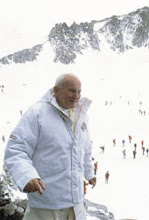 Pope on the Slopes