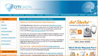 BLOGGERS: Lost data and DTI DATA