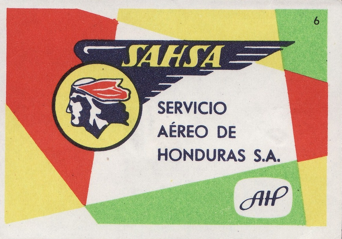 MATCHBOXES AND LABELS COLLECTION AIRLINES LOGO ON MATCHBOX LABEL