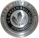 LEED Silver certification badge