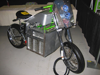 All electric chopper