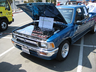 San Diego Earth Day 2008 at Balboa Park - Toyota truck converted to electric drive EV