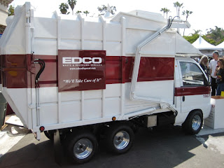 San Diego Earth Day 2008 at Balboa Park - mini EDCO garbage truck