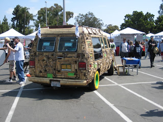 San Diego Earth Day 2008 at Balboa Park - bamboo van
