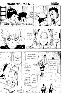 Naruto Manga 470