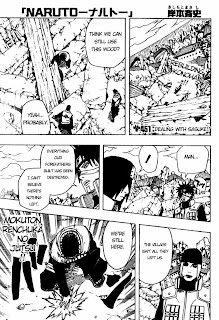 Naruto Manga 451 English