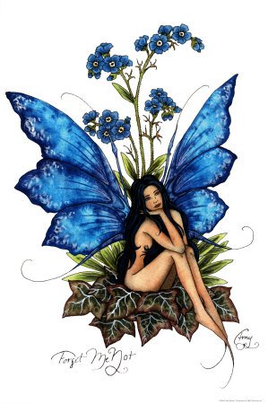 forget-me-not & unforgetable fairy