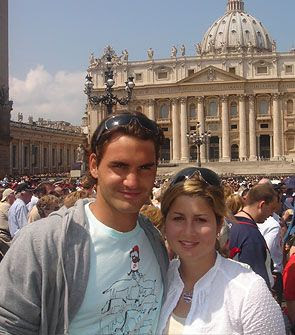 Roger Federer married longtime girlfriend Mirka Vavrinec in a small ceremony in his hometown Saturday